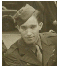 "Artie ""Jack"" Cotner, England, one week prior to D-Day Invasion of Normandy"