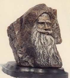 """Old Man"" by Arkansas artist, Jack Ronald Cotner"