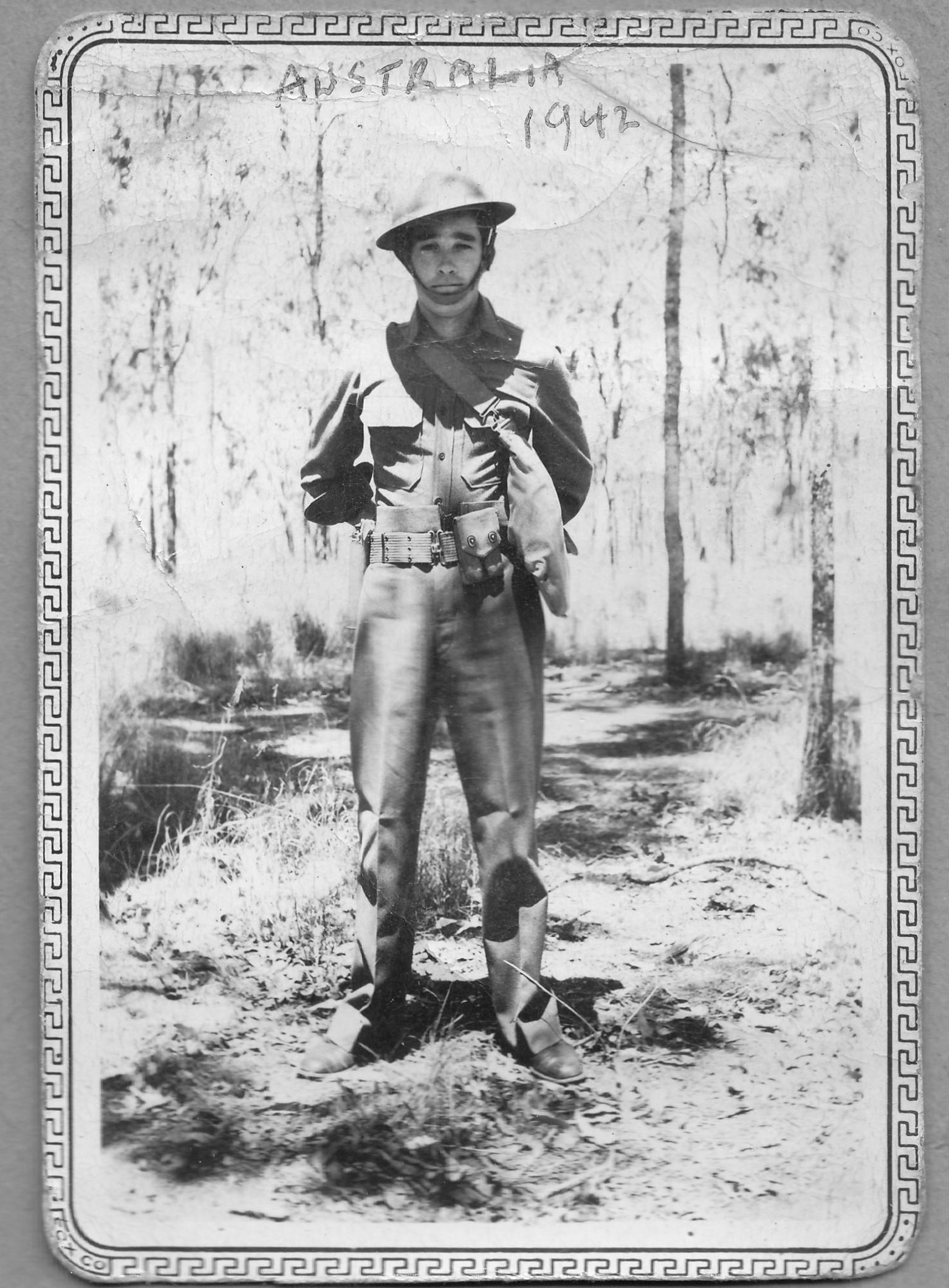 Cotner Australia 1942
